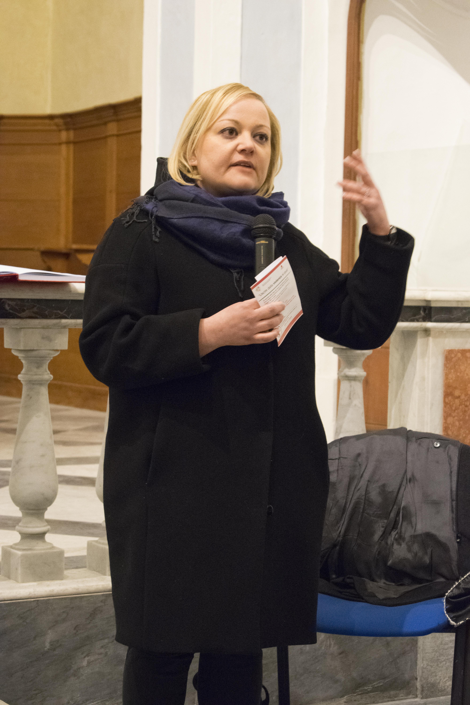 Anna Cordella - Responsabile settore immigrazione Cooperativa Rinascita